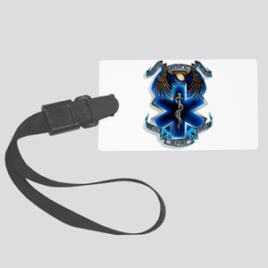 Emergency Medical Service Large Luggage Tag