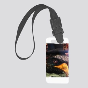 Venetian Crow Mask Small Luggage Tag