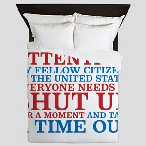 We all need a time out Queen Duvet