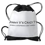 2-Jimmy V's Crazy T's Drawstring Bag