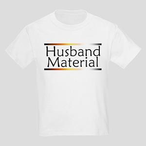 Husband Material Kids Light T-Shirt