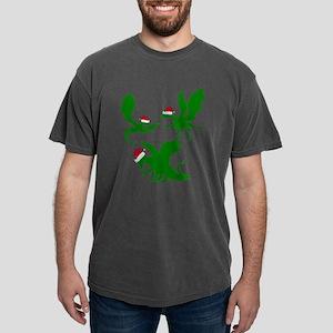 Dragon Christmas Mens Comfort Colors Shirt