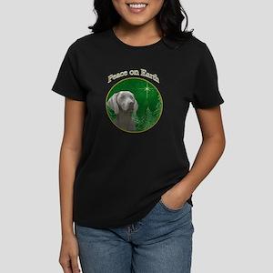 Weimaraner Peace Women's Dark T-Shirt