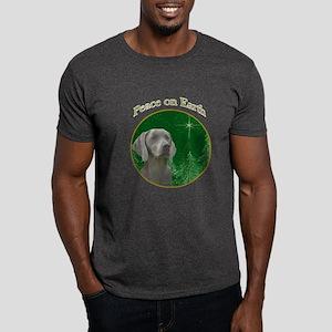 Weimaraner Peace Dark T-Shirt
