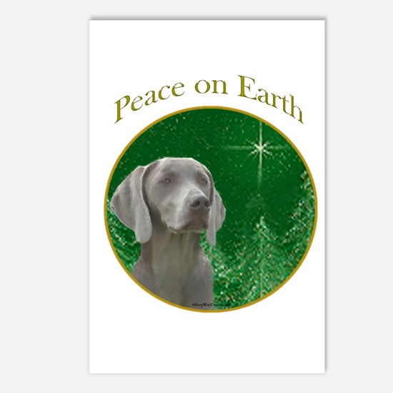Weimaraner Peace Postcards (Package of 8)