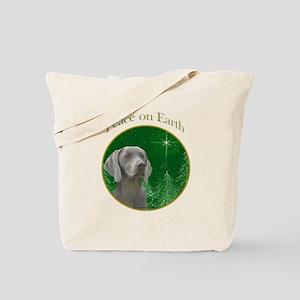 Weimaraner Peace Tote Bag