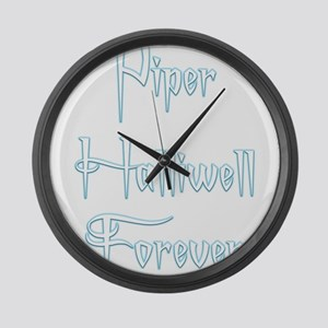 Piper Halliwell Forever Large Wall Clock
