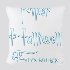 Piper Halliwell Forever Woven Throw Pillow