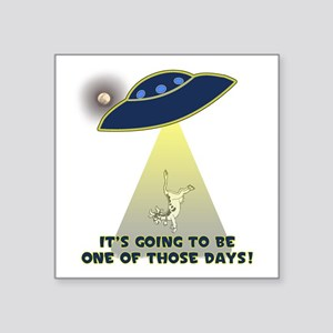 Ufo-Flying Cow Abduction-One Of Those Sticker