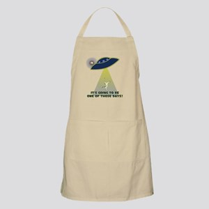UFO-FLYING COW ABDUCTION-ONE OF THOSE DAYS! Apron