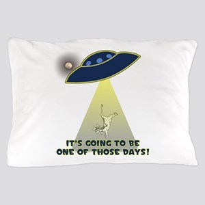 Ufo-Flying Cow Abduction-One Of Those Pillow Case