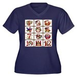 12 Days Of Christmas Plus Size T-Shirt
