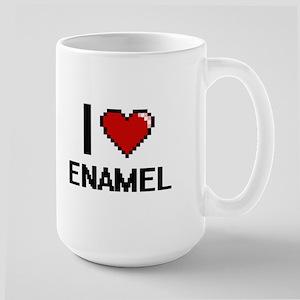 I love ENAMEL Mugs