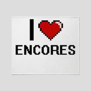 I love ENCORES Throw Blanket