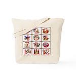 12 Days Of Christmas Tote Bag