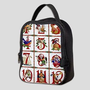 12 Days Of Christmas Neoprene Lunch Bag