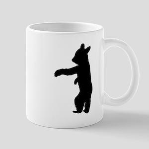 Bear Cub Silhouette Mugs