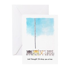 Drop You a Line Greeting Cards (Pk of 10)