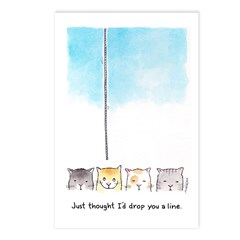 Drop You a Line Postcards (Package of 8)