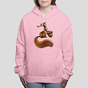 Ice Age Squirrel Women's Hooded Sweatshirt