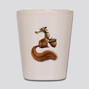 Ice Age Squirrel Shot Glass