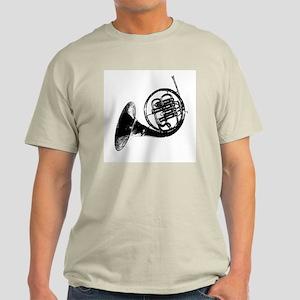 Black French Horn Light T-Shirt