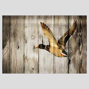 rustic western wood duck