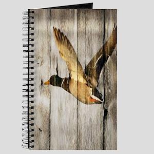 rustic western wood duck Journal