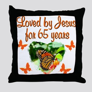 65TH BLESSING Throw Pillow