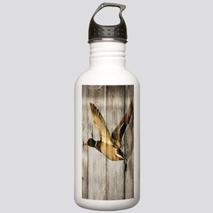 rustic western wood du Stainless Water Bottle 1.0L