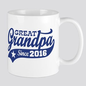 Great Grandpa Since 2016 Mug