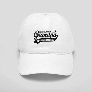 Great Grandpa Since 2016 Cap
