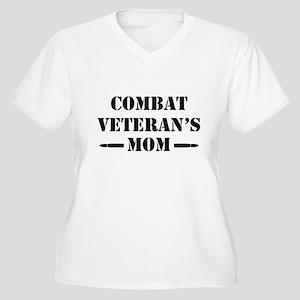 Combat Veteran's Women's Plus Size V-Neck T-Shirt