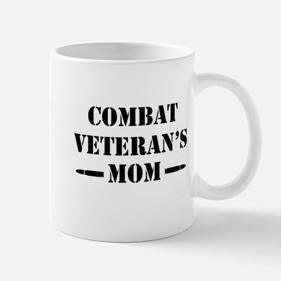 Combat Veteran's Mom Mug
