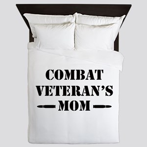 Combat Veteran's Mom Queen Duvet
