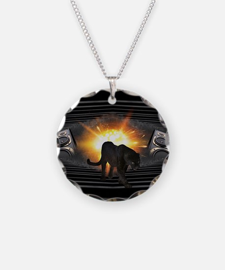 electric keyboard black pant Necklace