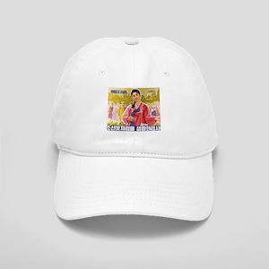 Korean Ladies Wearing Hanbok Cap