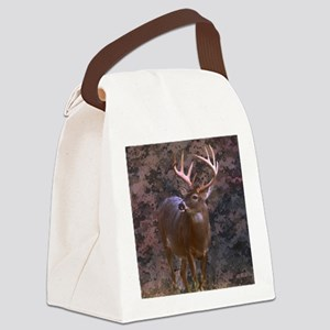 camouflage western country deer Canvas Lunch Bag