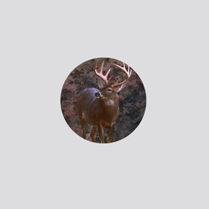 camouflage western country deer Mini Button