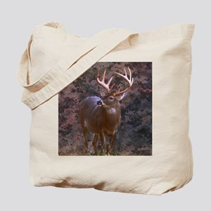 camouflage western country deer Tote Bag