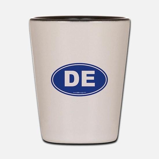 Delaware DE Euro Oval Shot Glass
