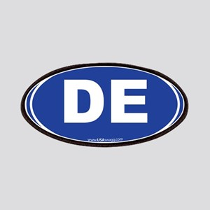 Delaware DE Euro Oval Patch