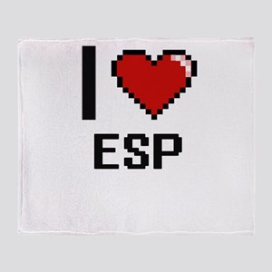 I love ESP Throw Blanket