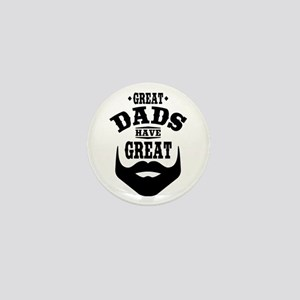 Bearded Dad Mini Button