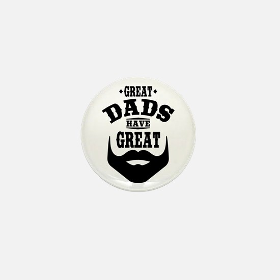 Bearded Dad Mini Button (10 pack)