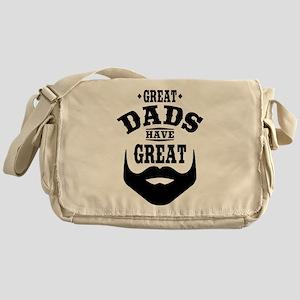Bearded Dad Messenger Bag