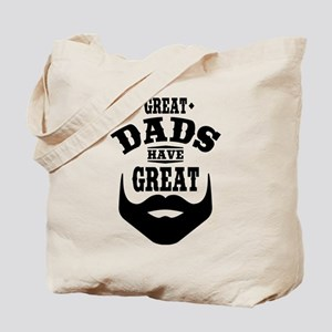 Bearded Dad Tote Bag