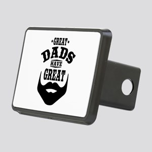 Bearded Dad Rectangular Hitch Cover