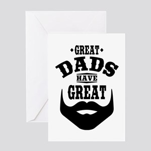 Bearded Dad Greeting Card