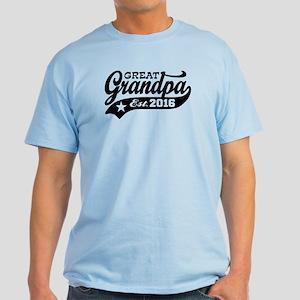 Great Grandpa Est. 2016 Light T-Shirt